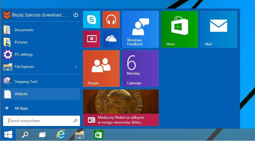 windows 10 calander how to send event